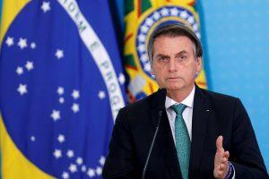 Bolsonaro removió a jefe de la policía en medio de la pandemia