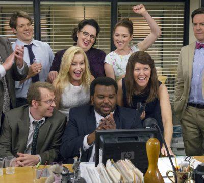 Elenco de The Office se reúne a través de videoconferencia