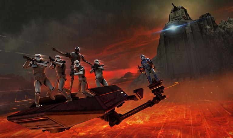 star wars vr realidad virtual