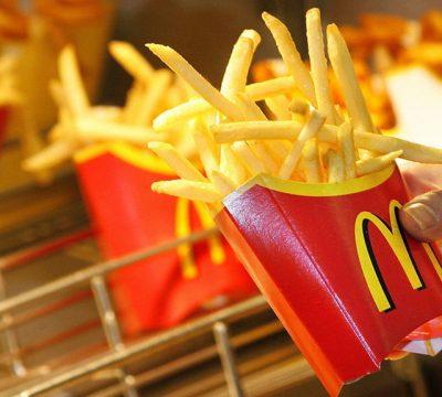 papas fritas McDonald's