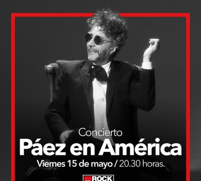 concierto paez en america rock and pop