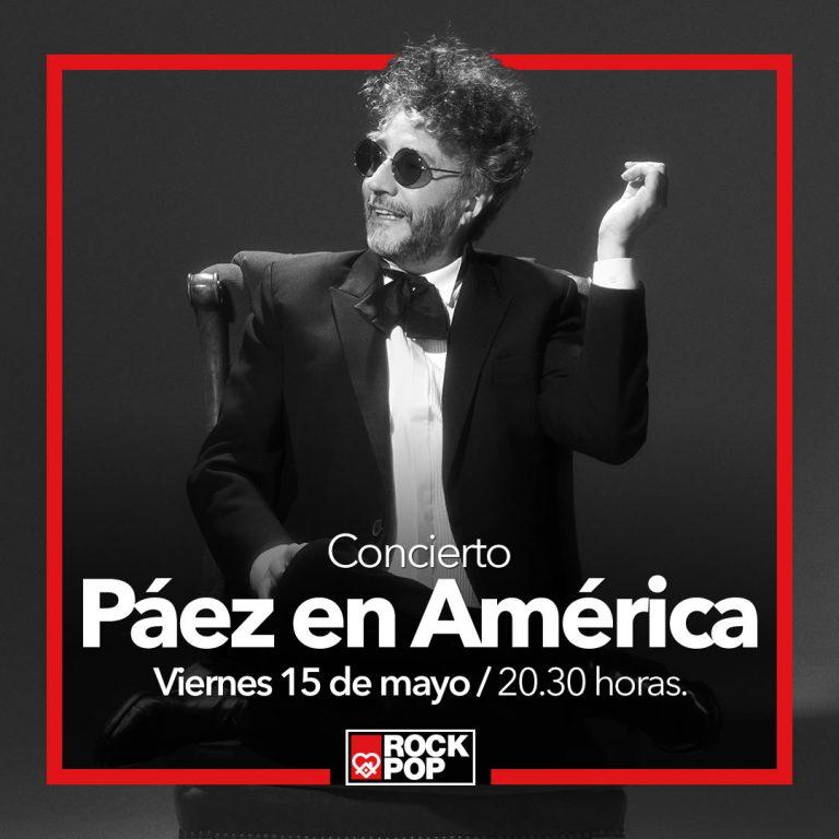 concierto paez en america rock and pop
