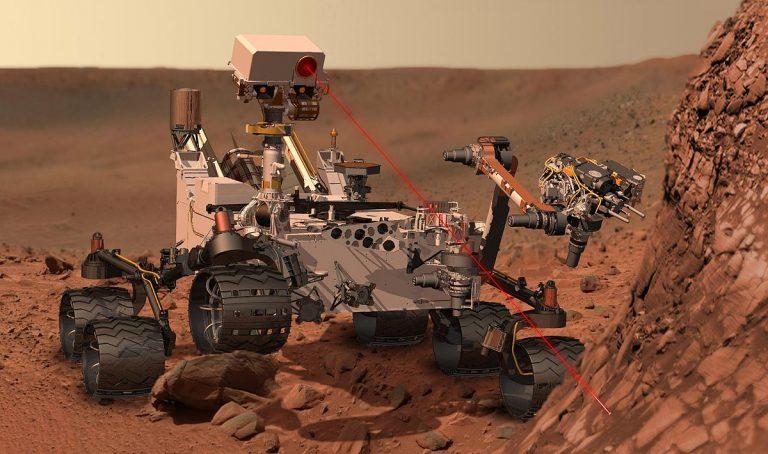 rover curiosity en marte