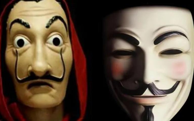 origen mascara anonymus