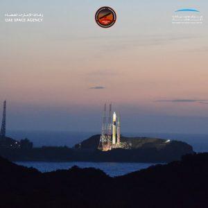Sonda espacial a Marte lanzó Emiratos Árabes