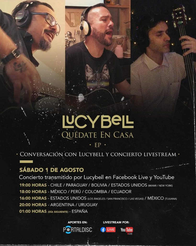 lucybell live stream
