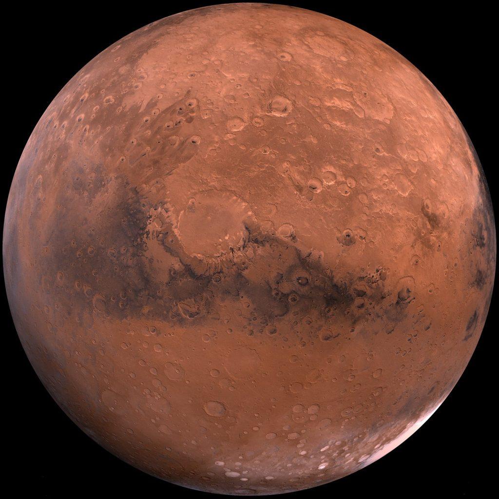 el asteroide potencialmente peligroso ha pasado por Marte