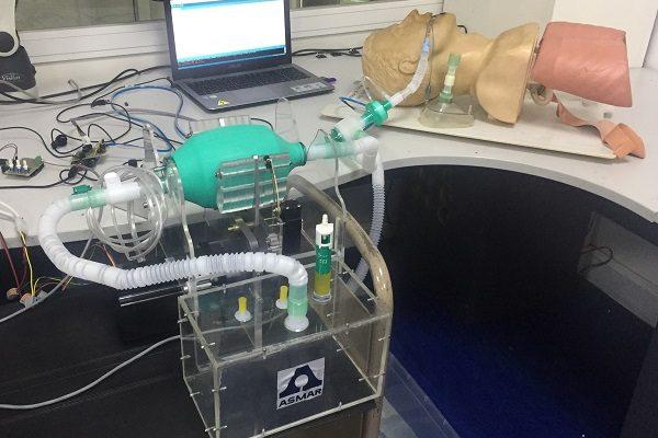 Fotografía: Prototipo Ventilador Asmar-UdeC
