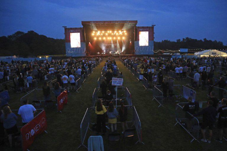 concierto en Inglaterra