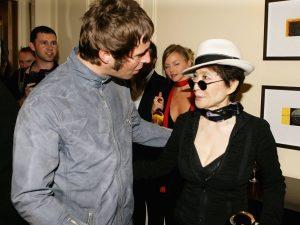 Liam Gallagher y Yoko Ono