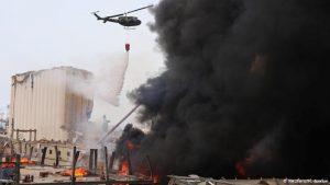 incendio libano puerto