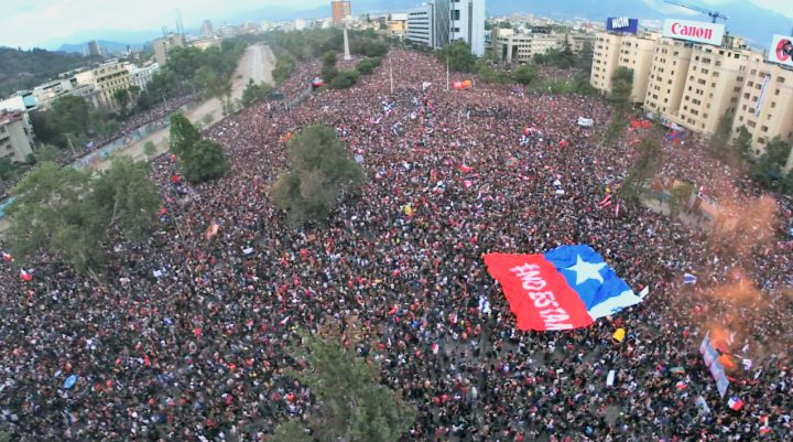 25 de octubre la marcha mas grande de chile