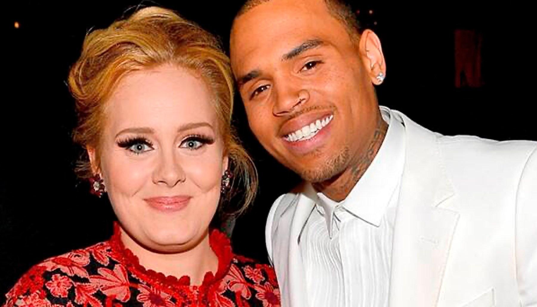 Chris Brown Paso La Noche En La Casa De Adele Pero Como Amigos