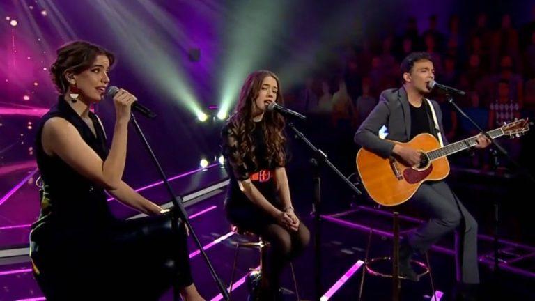 """Álvaro López y Millaray Viera cantaron junto a su hija en """"Yo Soy"""""""