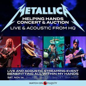 metallica concierto
