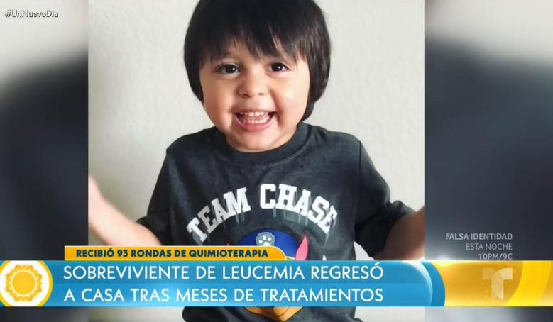 niño leucemia 4 años