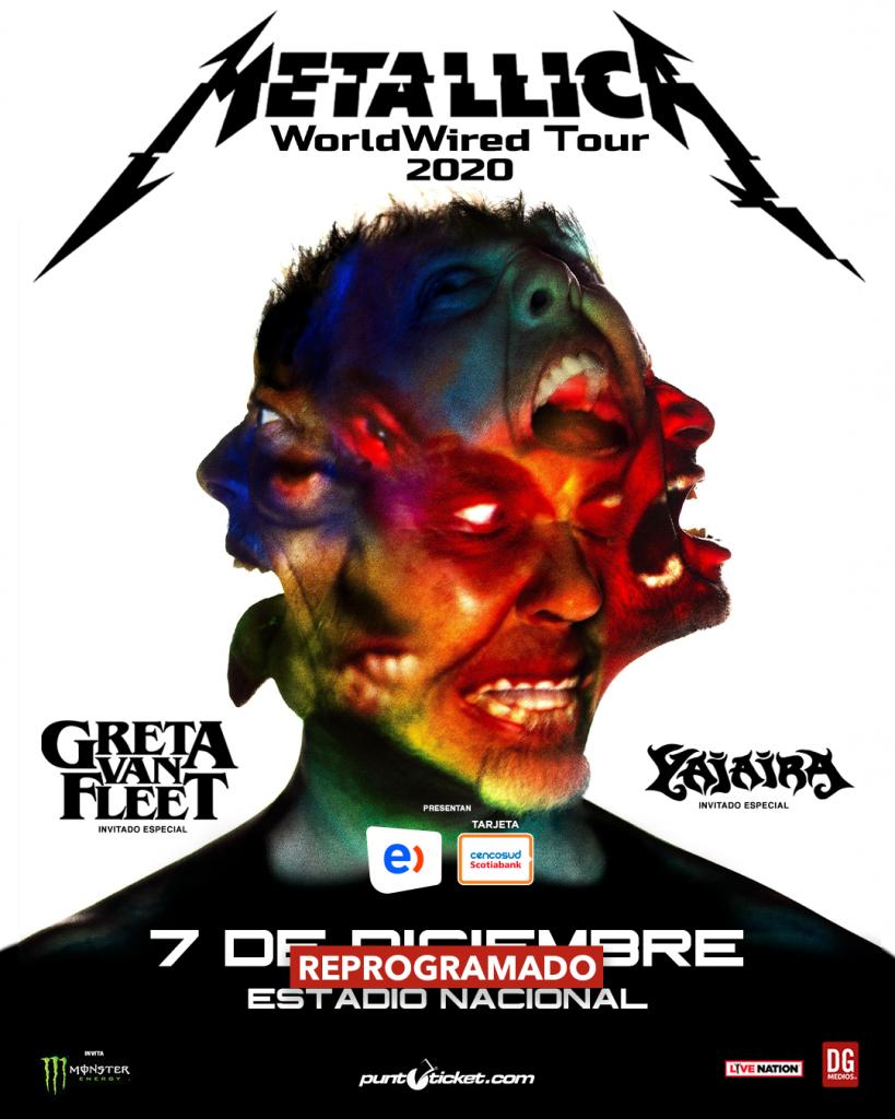 Metallica devolución de entradas