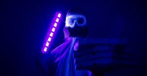 lámparas ultravioleta