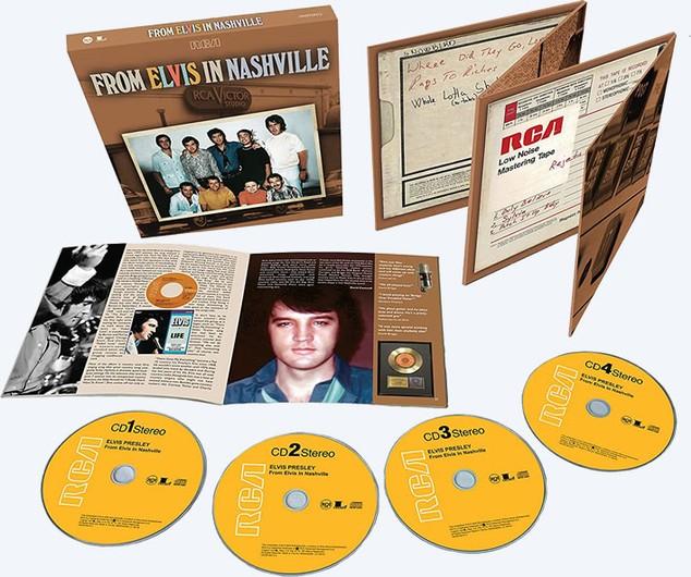 Elvis Presley: Las legendarias sesiones de Nashville de 1970ya están aquí