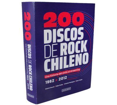 Nuevo libro recopila la historia del rock chileno a través de 200 discos!