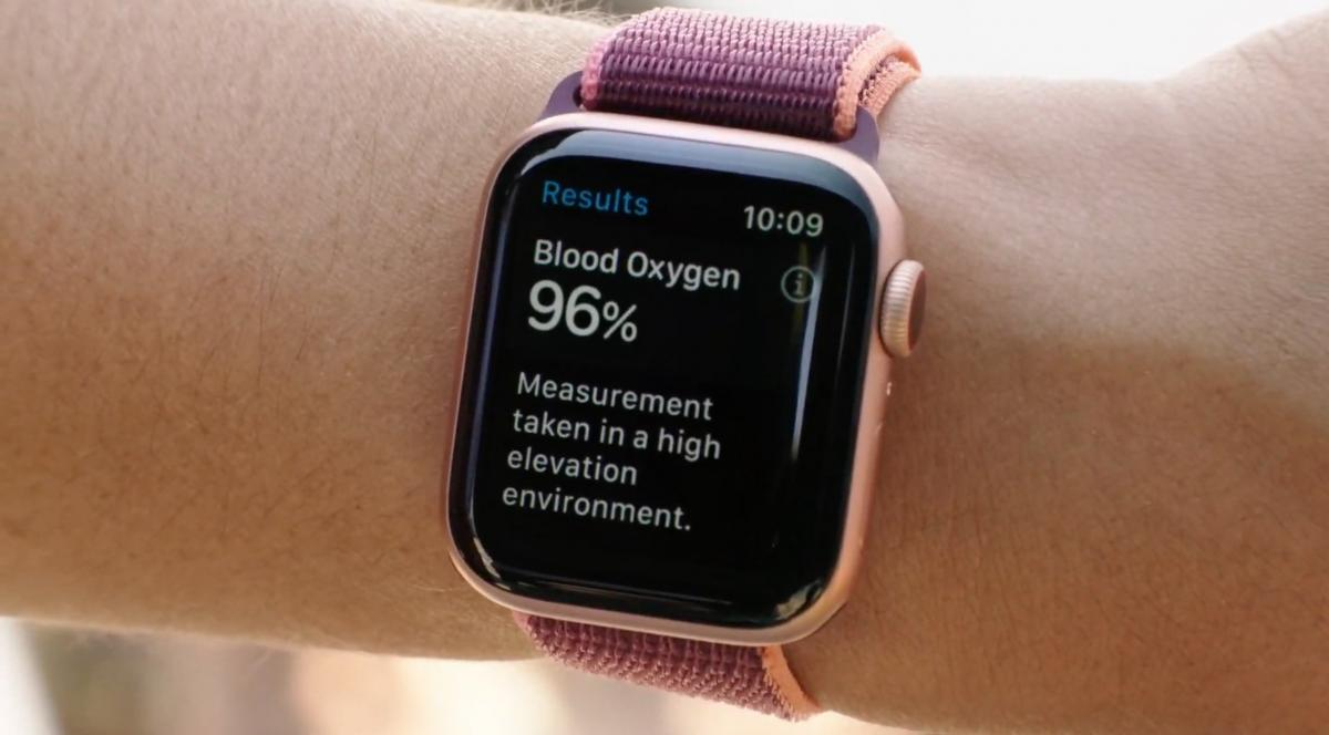 Apple Watch COVID