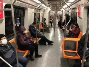 Metro de Santiago pandemia