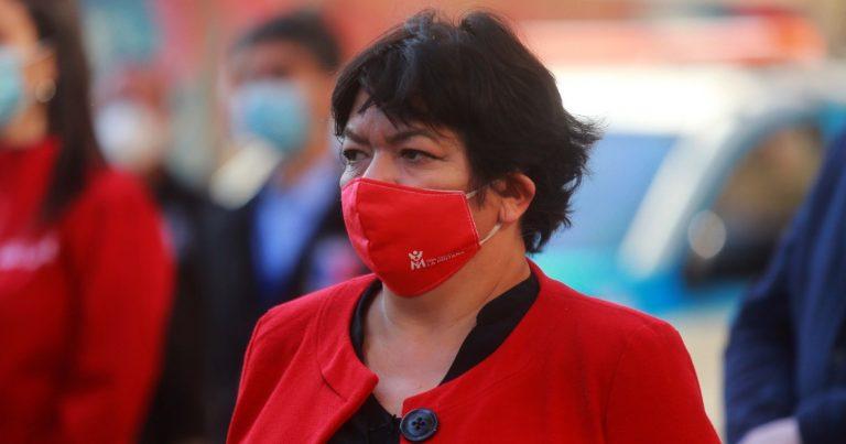 Alcaldesa Claudia Pizarro