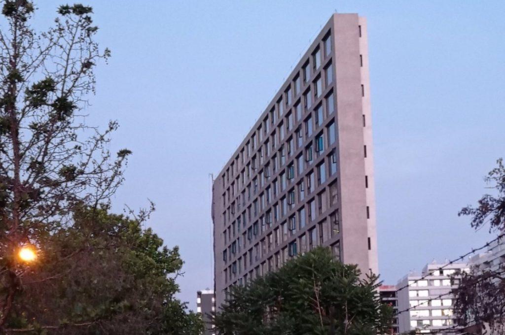edificio angosto santiago centro