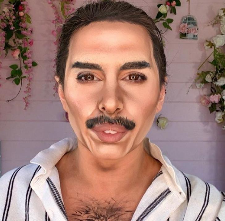 artista maquillaje