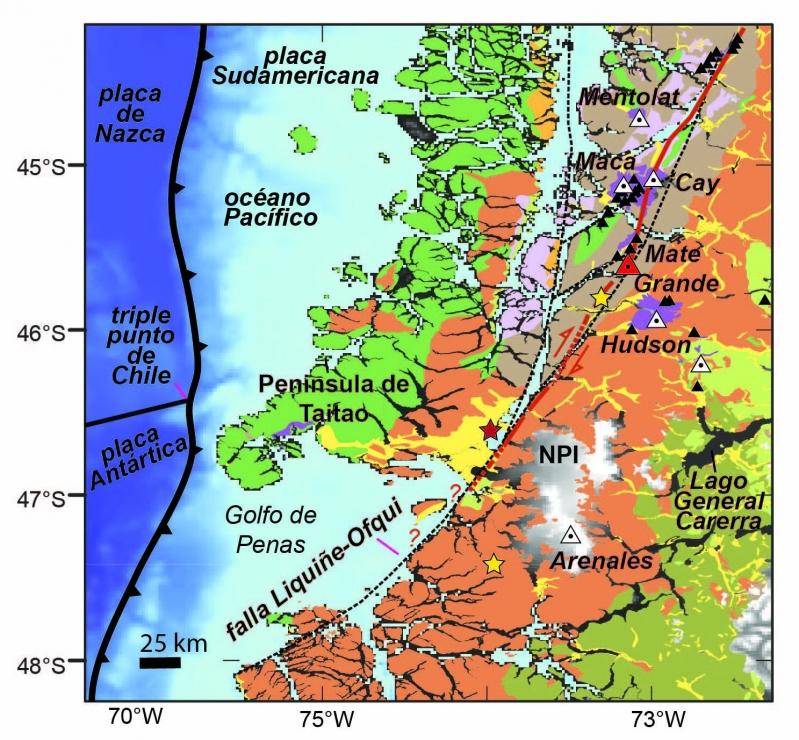 volcan patagonia chilena