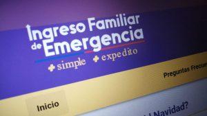 Nuevo Ingreso Familiar de Emergencia