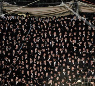 israel avalancha humana