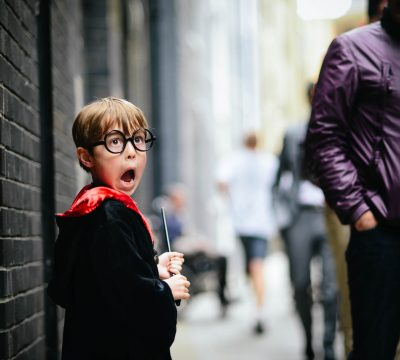 Harry Potter Being Scared