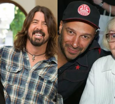 dave grohl tom morello madre