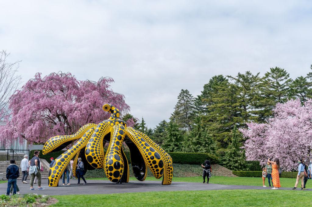 Kusama: Cosmic Nature Exhibit At New York Botanical Garden