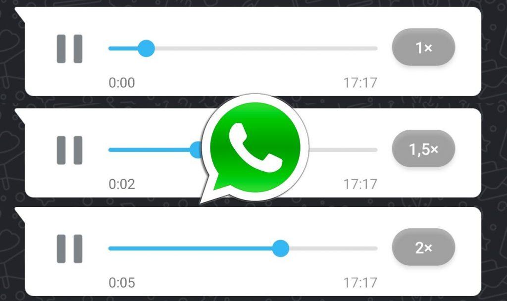 whatsapp audios aplicacion
