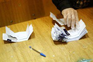 VALPARAISO: Conteo De Votos Del Plebiscito En El Liceo Eduardo De La Barra
