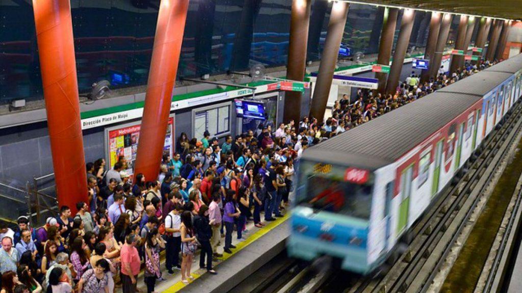 metro de santiago Segunda Vuelta gobernadores