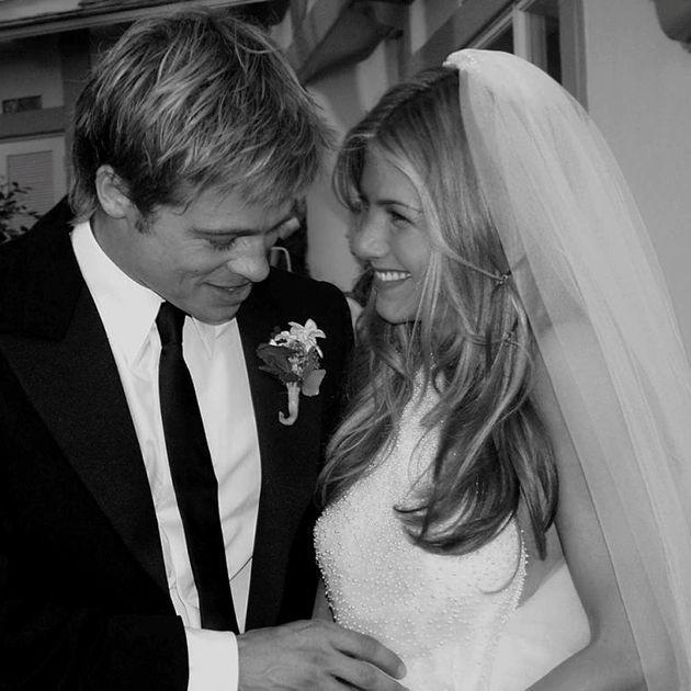 brad pitt jennifer aniston weeding marry boda casamiento