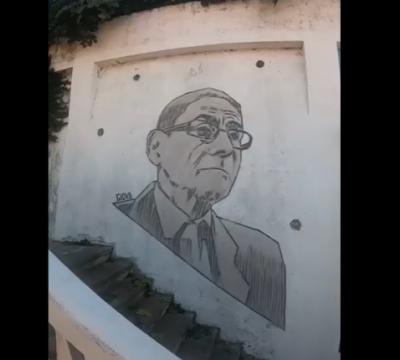 Don Sergio El Agente Topo Mural