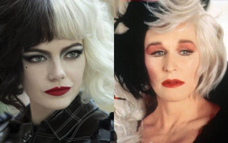 Con Emma Stone y Glenn Close Cruella de vil