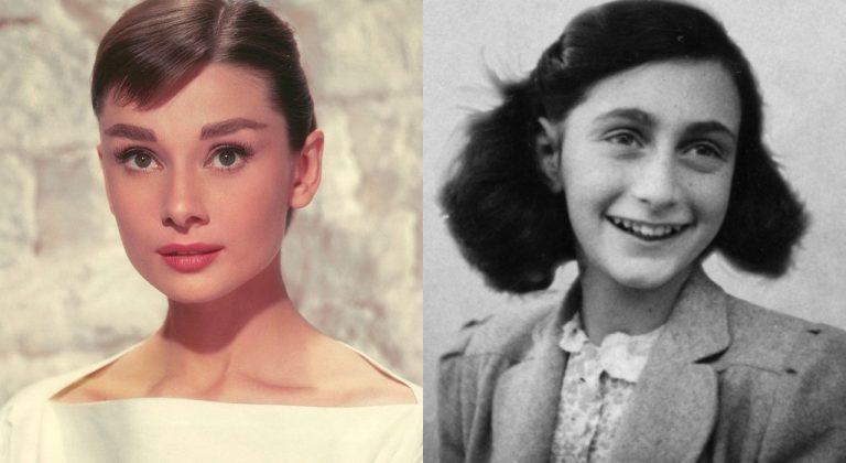 Audrey Hepburn Ana Frank