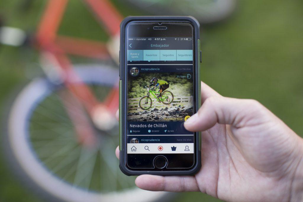 suda aplicación deporte outdoor