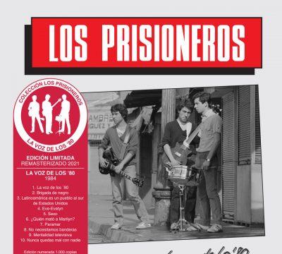 los prisioneros la voz de los 80 estadio nacional cd vinilo remasterizado