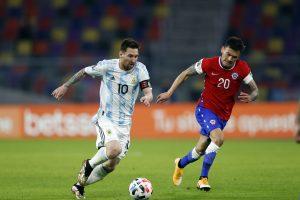 Clasificatorias Qatar 2022: Argentina Vs Chile