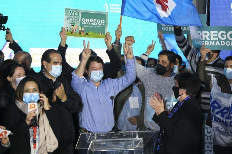 Elección Gobernadores Claudio Orrego