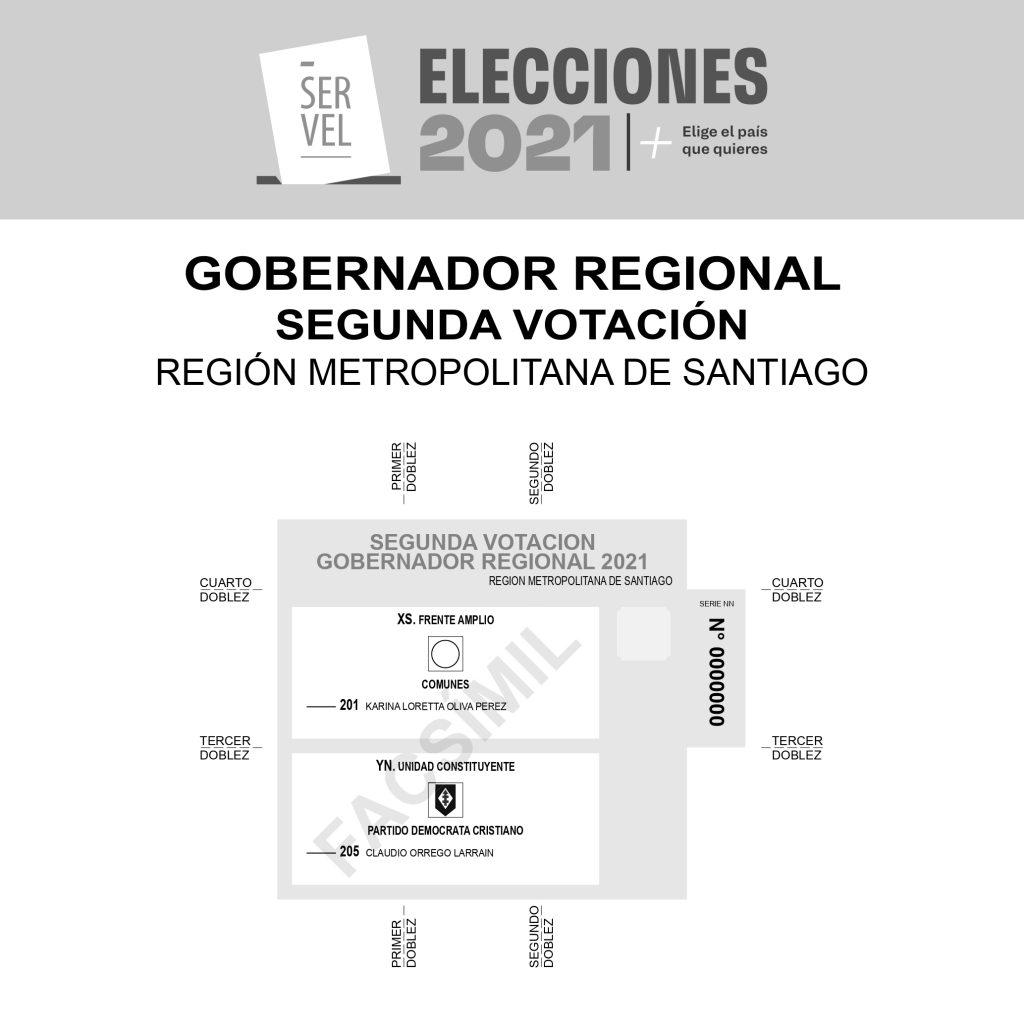 FACSIMIL GORE SEGUNDA VOTACION_METROPOLITANA DE SANTIAGO_WEB_page 0001