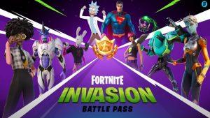 Fortnite Season 7 Invasion Battle Pass