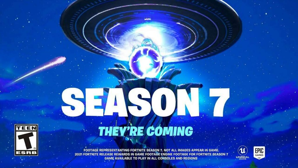 Fortnite Season 7 Teasers Include Superman Rick And Morty And