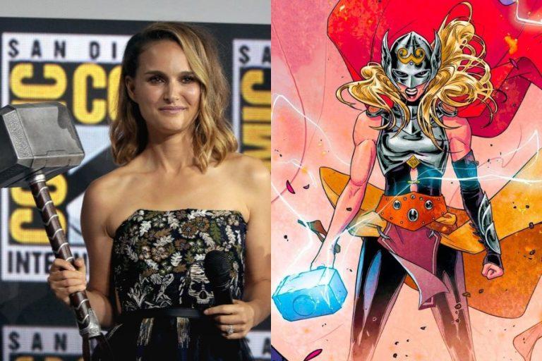 Thor Love And Thunder Natalie Portman Jane Foster Transformacion Cover